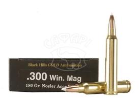 Патрон Black Hills Gold кал.300WinMag пуля Nosler AccuВond масса 11,7 г купить