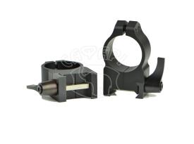 Кольца Warne Quick Detach Ring 25,4мм высокое Быстросъемное купить