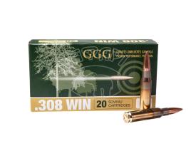 Патрон GGG .308 HPBT 190gr, 12.31 г купить