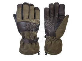 Перчатки Holik Evelyn Green Open 8317, откидной палец, зима купить