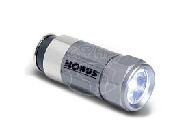 Тактический фонарик Konus с зарядкой от авто  купить