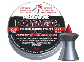 Пневматические пулиJSB Predator Polymag k .177 200 шт купить