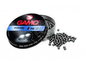 Пневматические шарикиGamo Round 500 k .177 500 шт купить